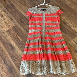 Bcbg maxazria dress. Never worn. Lacey dress